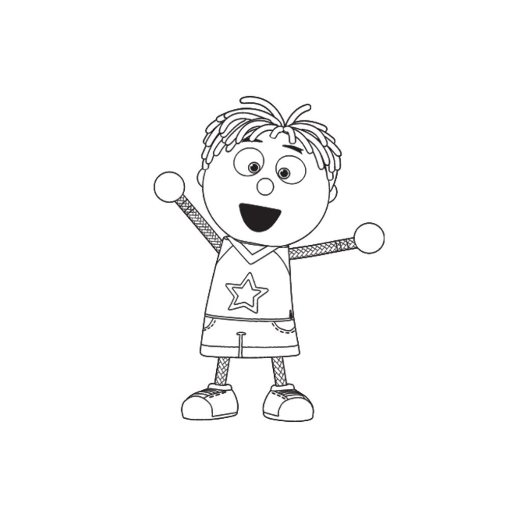 Tickety toc tommy from tickety toc colouring pages for preschoolers Wallykazam Coloring Pages Images From Tickety Toc Littlest Pet Shop Coloring Pages