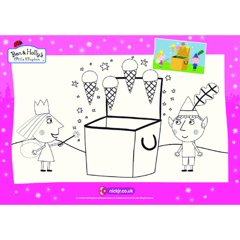 ben and holly coloring pages little kingdom|Ben and Holly's Little Kingdom   Colouring Sheets  ben and holly coloring pages