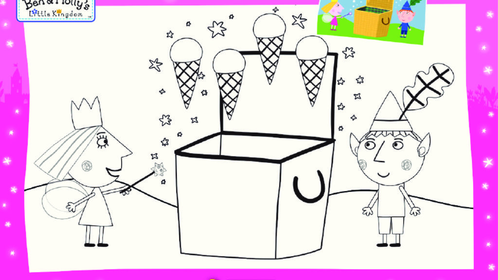 little-kingdom|Ben and Holly\'s Little Kingdom - Colouring Sheets ...