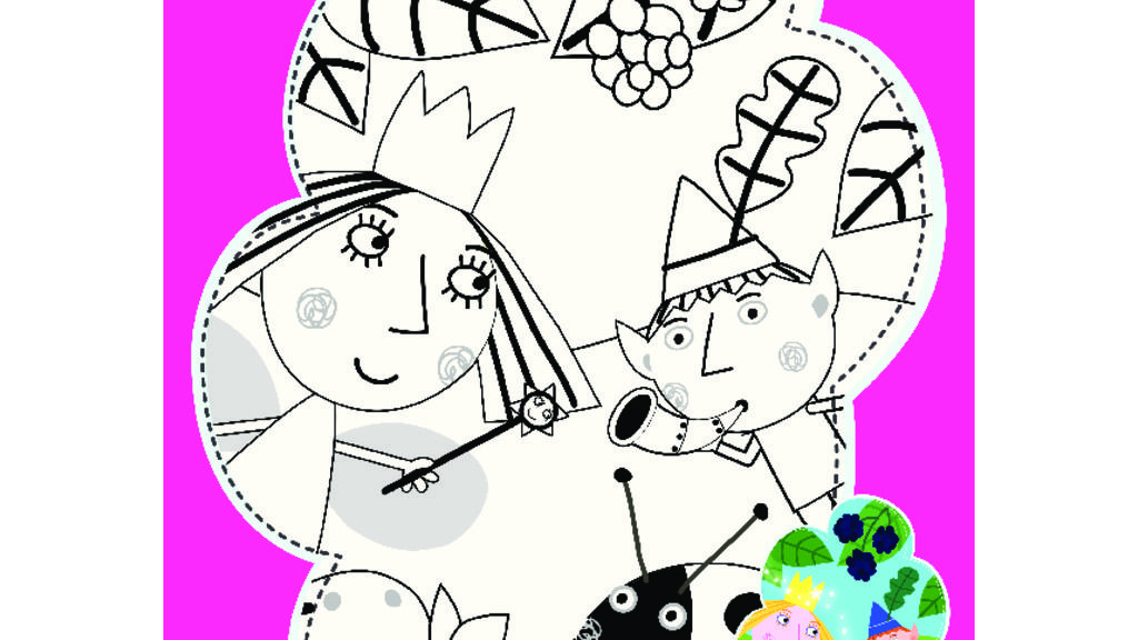 littlekingdom Ben Holly 39 s Colouring In Colouring Pages