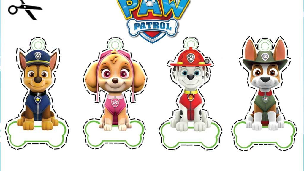 paw patrol christmas tree decorations