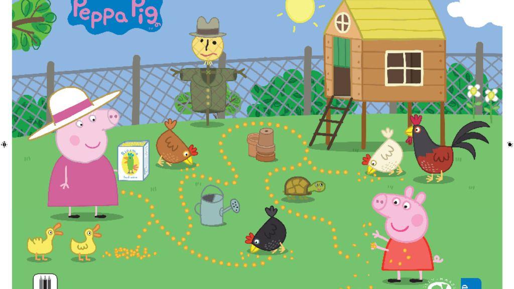 Peppa Pig Peppa Pig Granny 39 s Farm Activity Colouring