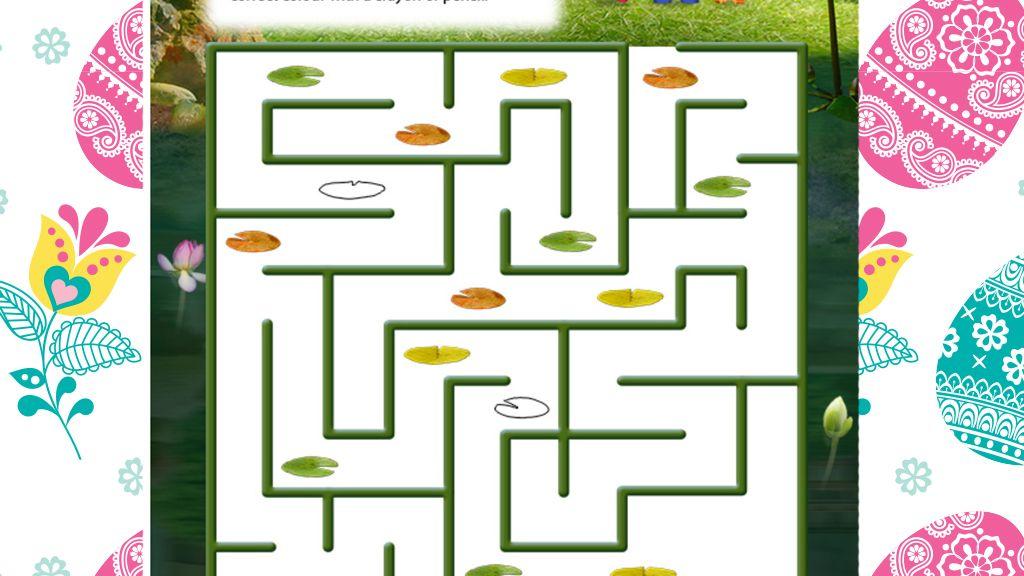 Team Umizoomi Springtime Maze Printable Activity
