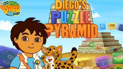 Diego Pyramid Puzzle | Nick Jr. UK