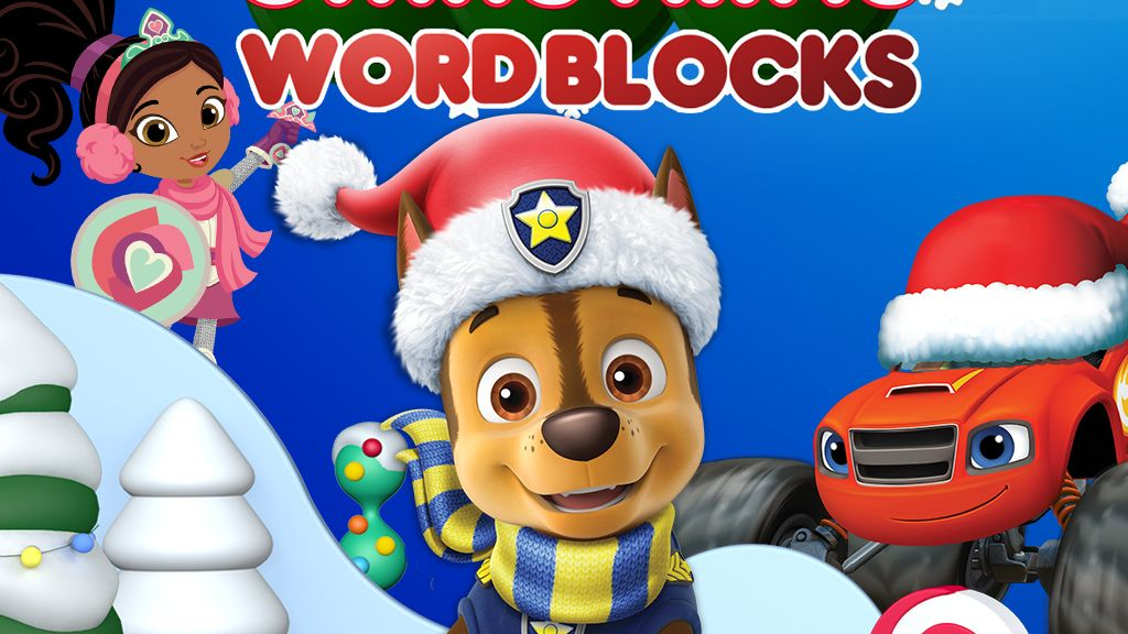 Nick Jr. Christmas Word Blocks