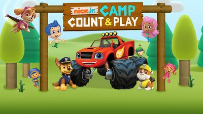 Nick Jr. Camp Count & Play Game