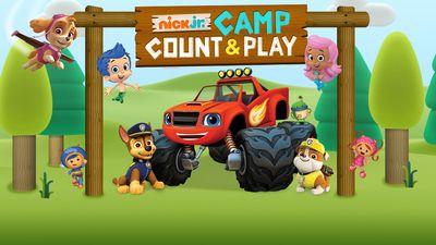 Nick Jr. Camp Count & Play Game | Nick Jr. UK