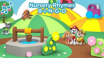 nursery rhymes bingo