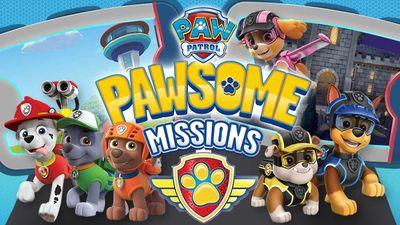 Paw Patrol Pawsome Missions Game