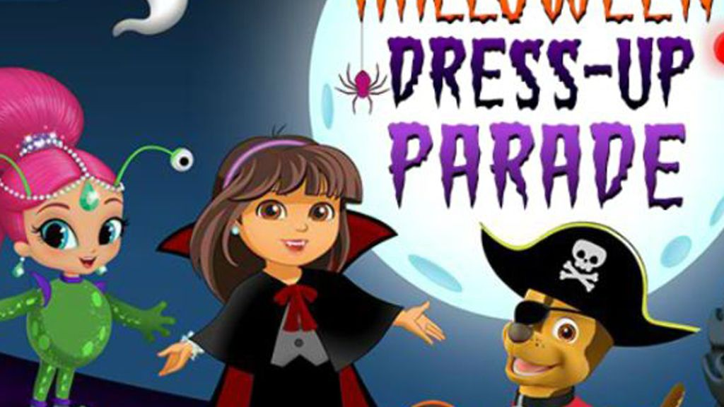 halloween dress up parade game nick jr uk - Dress Up Games For Halloween