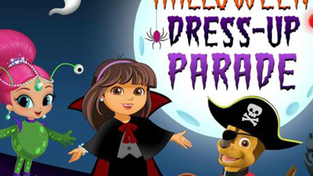 Halloween Dress Up Parade Game | Nick Jr. UK