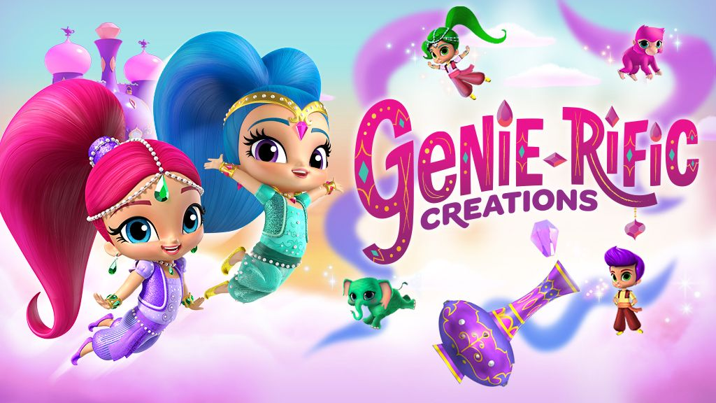 Shimmer and Shine Genie-rific Creations Dress Up Game