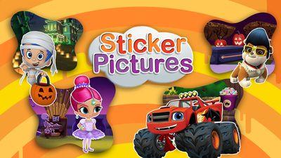 Halloween Sticker Fun Game | Nick Jr. UK