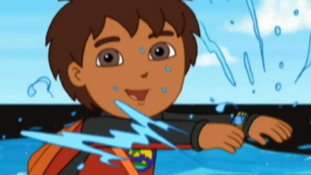 Go, Diego, Go!: Oil Spill