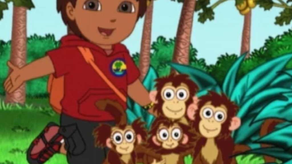 Go Diego Go Diego Saves The Spider Monkey