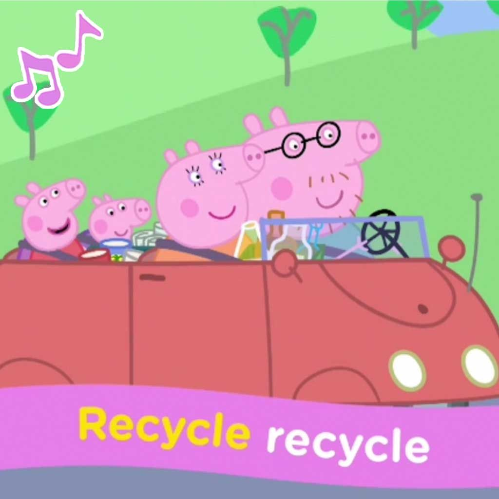 Peppa Pig: Recycle Recycle Sing Along