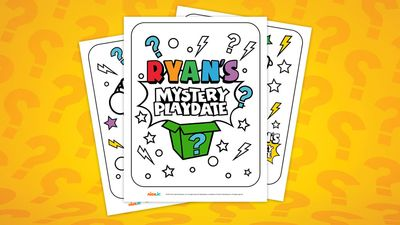 Ryan S Mystery Playdate Colouring