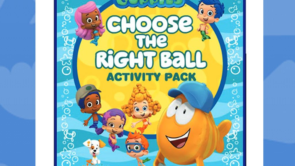 Bubble Guppies Choose The Right Ball Activity Pack
