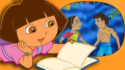 Dora The Explorer Bedtime Stories Quot Rama And Sita