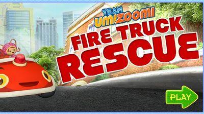 Team Umizoomi Fire Truck Rescue Adventure Game Nick Jr