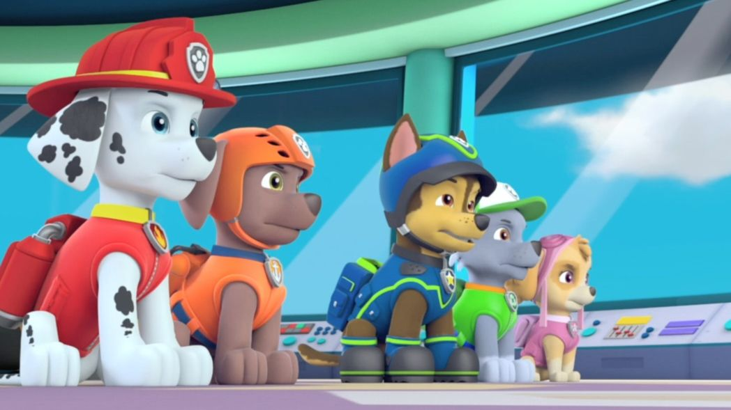 Paw patrol s3 ep315 tracker joins the pups! full episode