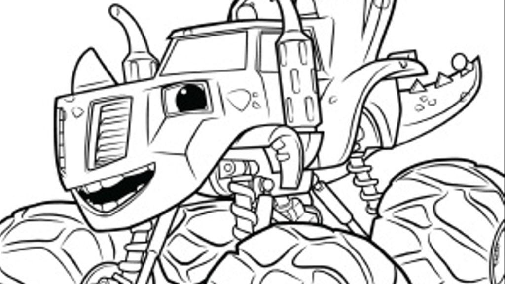 Colora Zeg Disegna Con Blaze E Le Mega Macchine Su Nick Jr