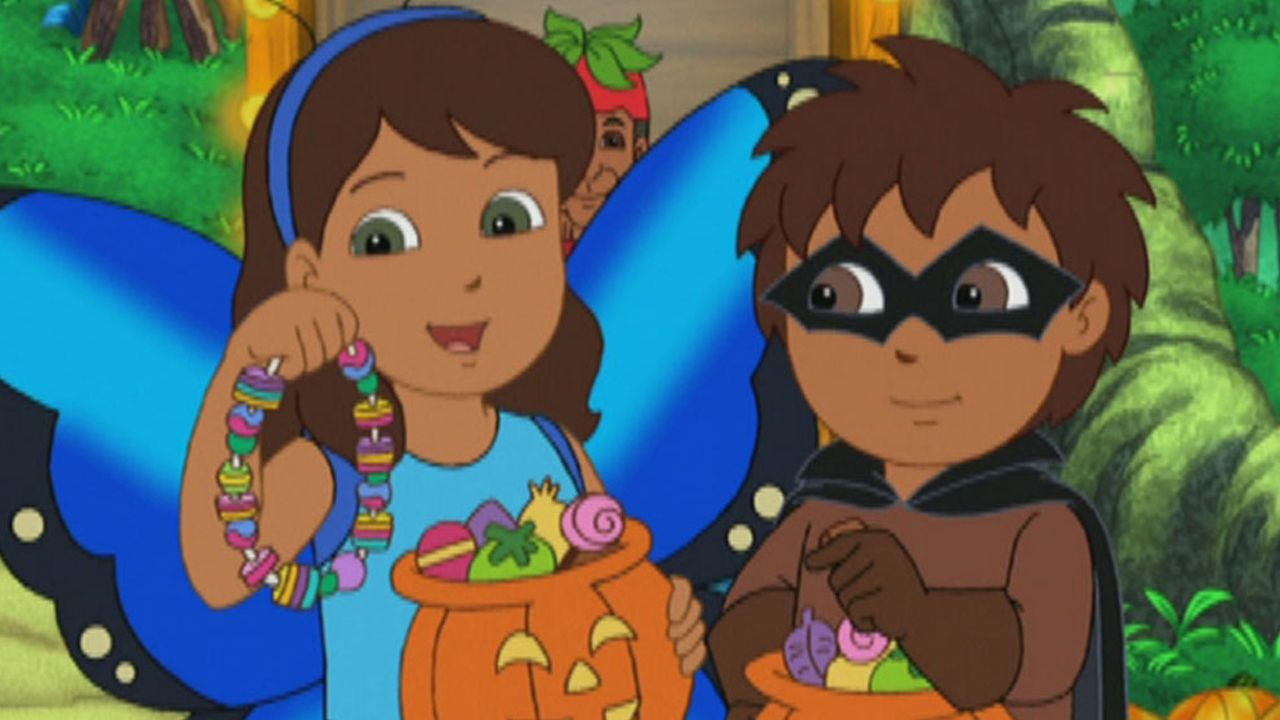 go diego go s3 ep312 freddie the fruit bat saves halloween full episode