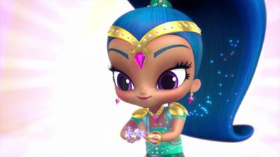 Shimmer And Shine Flying Flour
