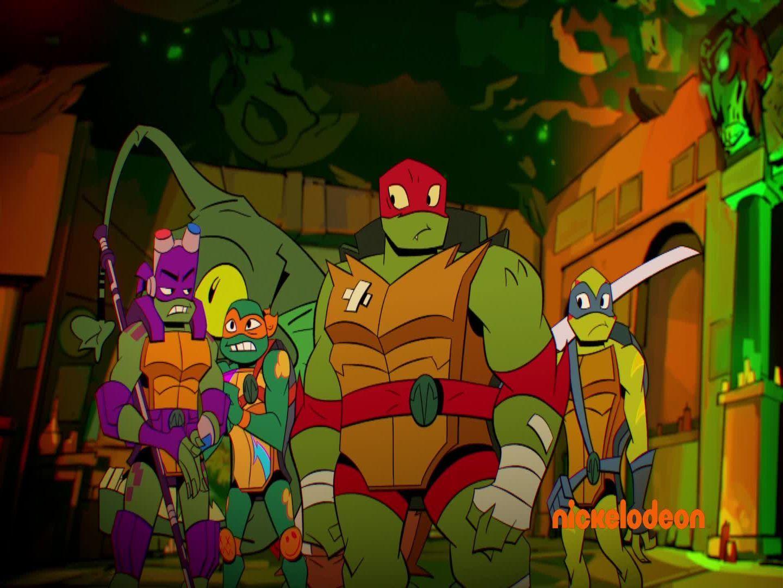 O Despertar Das Tartarugas Ninja Series Mundonick Com