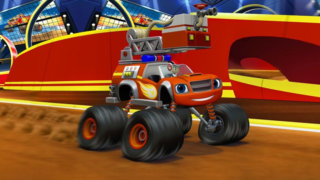 Blaze And The Monster Machines Carro De Bombeiros Monster Machine