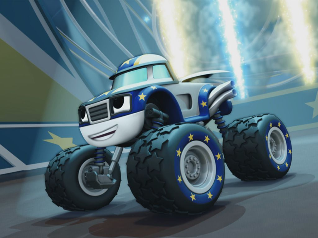 Blaze And The Monster Machines Acrobatomania Videos E