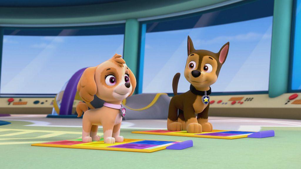 Patrulha Canina Dancinha Dos Filhotes Clipes Nick Jr Brasil