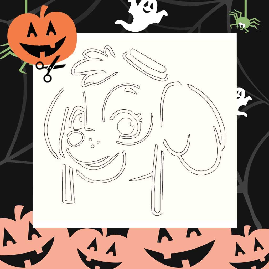 This is an image of Printable Pumpkin Template pertaining to outline