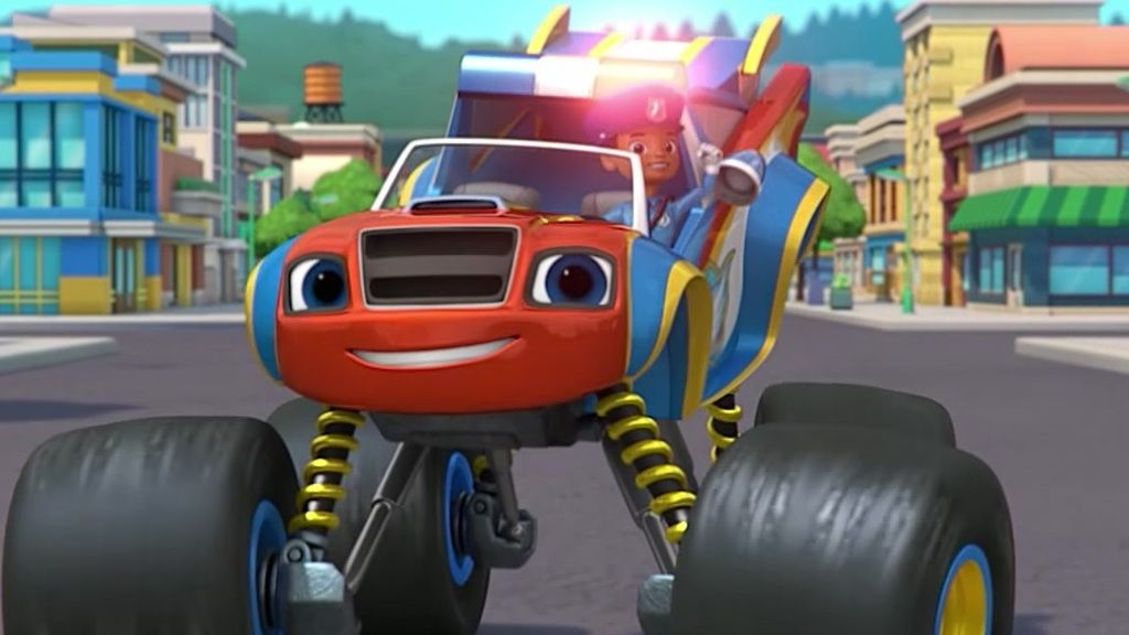 Blaze And The Monster Machines Officer Blaze